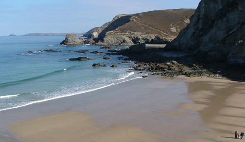 Trevaunance Cove (St Agnes beach) - 5 minutes walk from Argantel