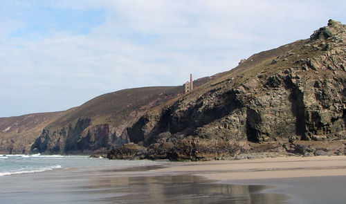 Towanroath Engine House Wheal Coates St Agnes Cornwall